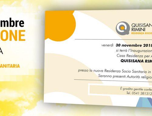 Inaugurazione Quisisana Rimini – venerdì 30 novembre 2018