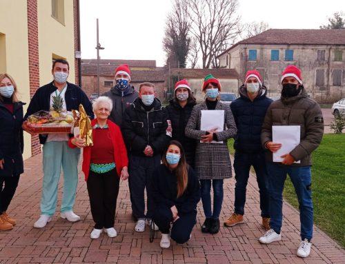 Quisisana Ostellato: La Pro Loco augura buon Natale agli ospiti della residenza Quisisana Ostellato