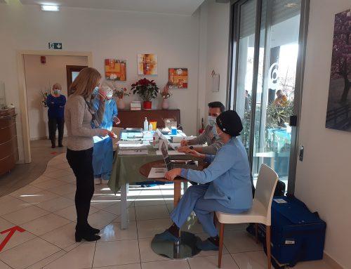 Quisisana Rimini: Via alla seconda somministrazione del vaccino anti Covid19