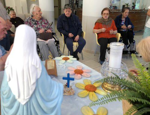 Quisisana Rimini – Attività religiosa con recita del Santo Rosario